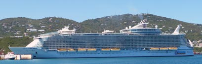 Detailbild Schiff Allure of the Seas