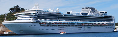 Detailbild Schiff Diamond Princess