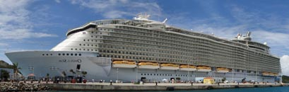 Detailbild Schiff Oasis of the Seas